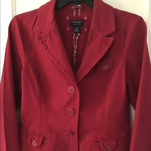 American Eagle Outfitters Jackets & Blazers - ❗️SALE❗️American Eagle Pink Three Button Blazer